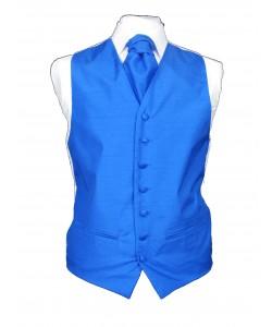 Baddow royal blue wedding waistcoat
